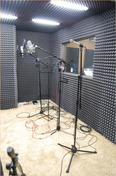 Как сделать комнату как студия звукозаписи